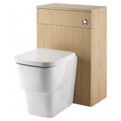 Elegance Aquapure 1 Light Oak 550 WC Unit