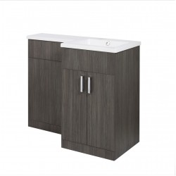 Elegance Aquatrend Petite Basin and WC Unit Right Hand