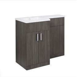 Elegance Aquatrend Petite Basin and WC Unit Left Hand