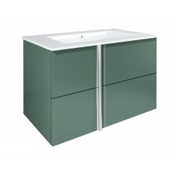 Elegance Onix 800mm Wall Unit And Ceramic Basin