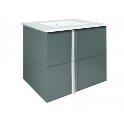 Elegance Onix 600mm Wall Unit And Ceramic Basin