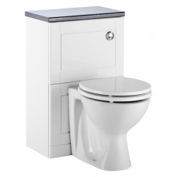 Elegance Aquachic 500 Gloss White WC Unit