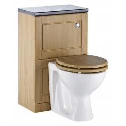 Elegance Aquachic 500 Natural Oak WC Unit