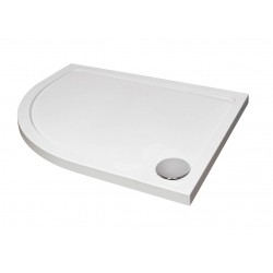 Elegance Designer Offset Quad Shower Tray
