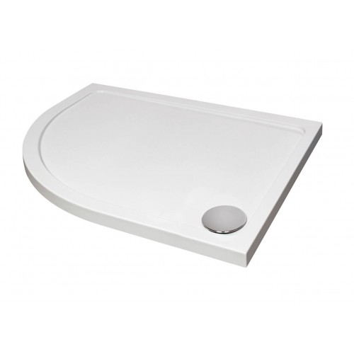 Elegance Designer Offset Quad Shower Tray image