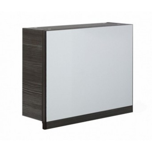 Elegance Aquatrend Avola Grey 500mm Gas-lift Mirror Cabinet With Integral Shelving image