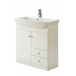 Elegance Aquapure 1 Gloss White 750 Drawer Unit