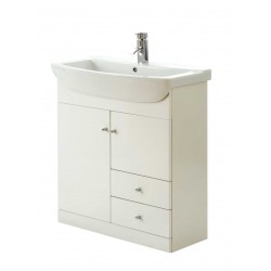 Elegance Aquapure 1 Gloss White 850 Drawer Unit