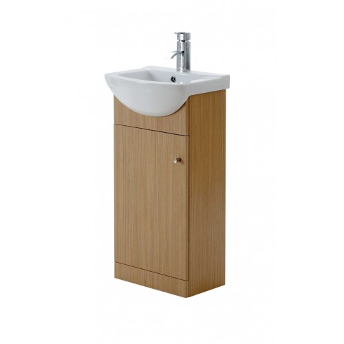 Elegance Aquapure 1 Light Oak 450 Base Unit image