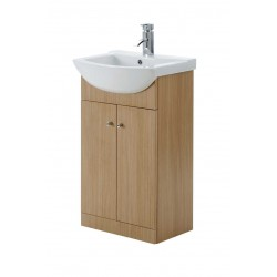 Elegance Aquapure 1 Light Oak 550 Base Unit