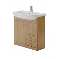 Elegance Aquapure 1 Light Oak 850 Drawer Unit image