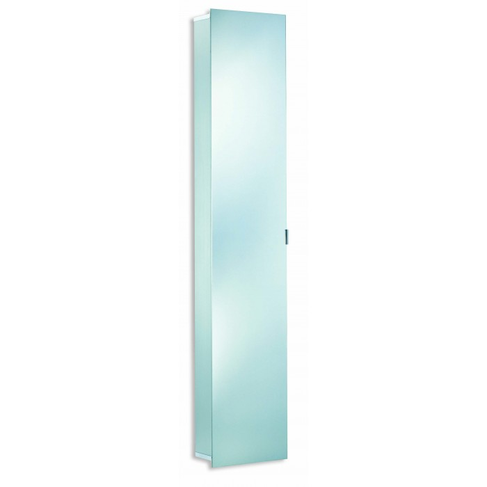 Elegance hsk tall mirrored cabinet without lights for Tall mirrored bathroom cabinet
