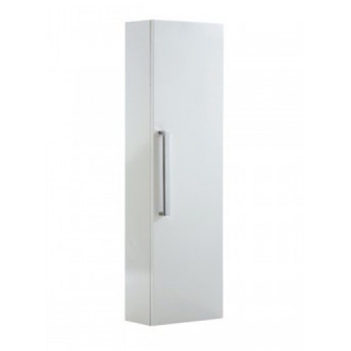 Elegance Aquatrend Gloss White 705mm Gas-lift Mirror Cabinet With Integral Shelving image