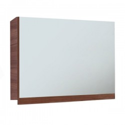 Elegance Aquatrend Walnut Gas-lift Mirror Cabinet 705mm