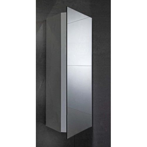 Elegance Alcove Mirrored Cabinet image