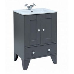Elegance Aquamode 1 Dust Grey Vanity Unit