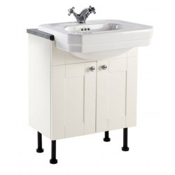 Elegance Aquamode 2 Crema 600mm Basin Unit