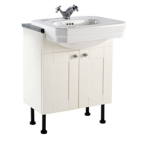 Elegance Aquamode 2 Crema 600mm Basin Unit image