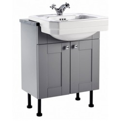 Elegance Aquamode 2 Dust Grey 600mm Basin Unit