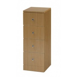 Elegance Aquapure 1 Light Oak 4 Drawer Base Unit