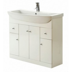 Elegance Aquapure 1 Gloss White 1050 Drawer Unit