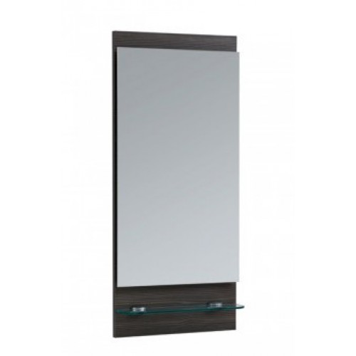 Elegance Aquatrend Avola Grey Mirror With Shelf image