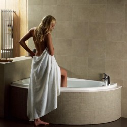 Elegance Orlah 1500 X 1040mm Offset Left Hand Corner Bath