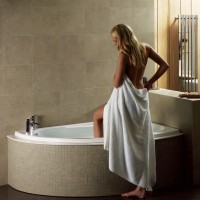 Elegance Orlah 1500 X 1040mm Offset Right Hand Corner Bath image