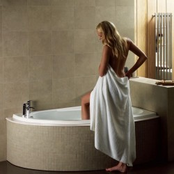 Elegance Orlah 1500 X 1040mm Offset Right Hand Corner Bath