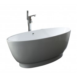 Elegance Pure Twin Skinned Luxury Freestanding Double-Ended Bath