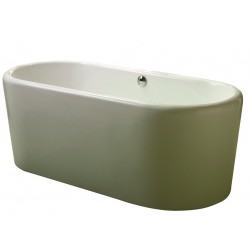 Elegance Rondo Twin Skinned Freestanding Double-Ended Bath