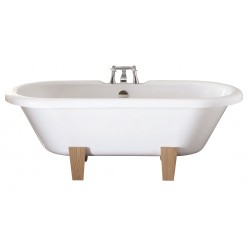 Elegance Skipton 1700 X 750mm Double Ended Freestanding Bath