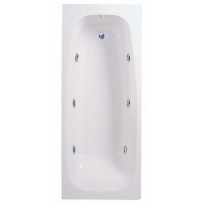 Elegance Caymen 1700 X 700mm 6 Jet Whirlpool Bath | Whirlpool Baths ...