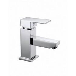 Elegance Cube Basin Mono With Click-clack Waste HP1