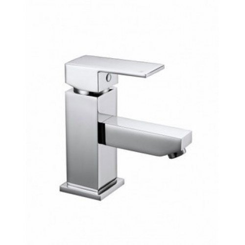 Elegance Cube Basin Mono With Click-clack Waste HP1 image