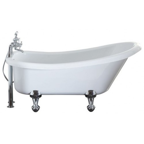 Elegance Eldwick 1500 X 750mm Slipper Freestanding Bath image