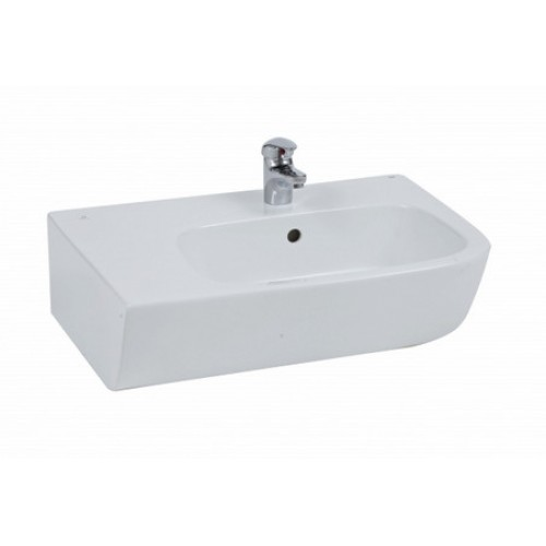 Elegance Elena Counter Top 650mm Left Hand 1 Tap Hole Basin image