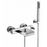 Elegance Emme Wall-mounted Bath Shower Mixer With Cascade Spout HP2 image