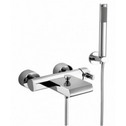 Elegance Emme Wall-mounted Bath Shower Mixer With Cascade Spout HP2