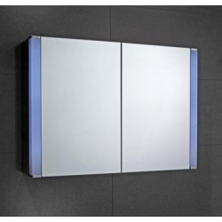 Elegance Hepworth Double Mirrored Cabinet