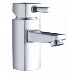 Elegance Cubix2 Basin Mono With Click-clack Waste MP