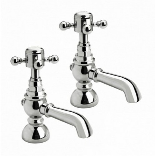 Elegance Edwardian Basin Taps MP image