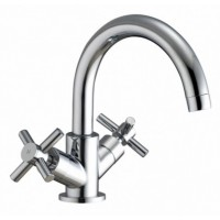 Elegance Fusion X Head Basin Mono With Swivel Spout And Click-clack Waste LP2 image