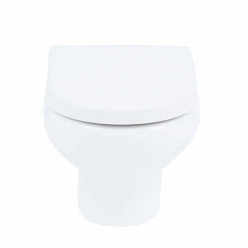 Elegance Compact Eco Rimless wall hung WC image