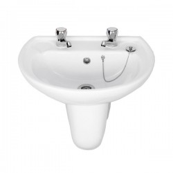 Elegance Atlantic 2 Tap Hole Basin
