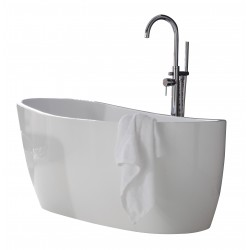 Elegance Pano Luxury Freestanding Slipper Bath