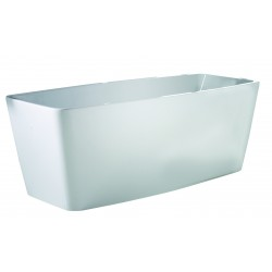 Elegance Cube Luxury Freestanding Double-Ended Bath