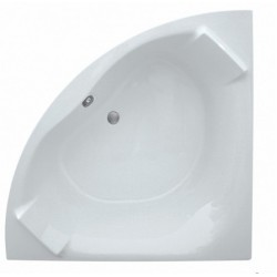 Elegance Luxe 1400 X 1400mm Corner Bath With Built In Headrest