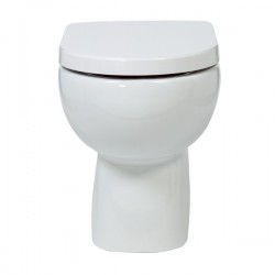 Elegance Compact Eco Rimless back to wall WC