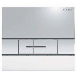 Elegance Siamp Segment Flush Plate In Brilliant Chrome Finish